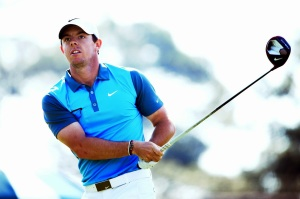 RORY MCILROY DRIVE FACE ON GETTY MAY 2014